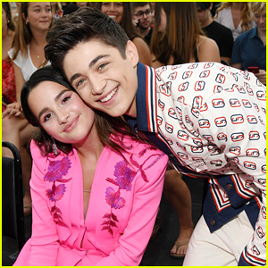 Asher Angel Gets a Sweet Surprise From Annie LeBlanc - Watch the Video!