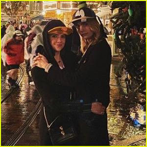 Ashley Benson Spends the Day at Disneyland with Cara Delevingne & Her Family!