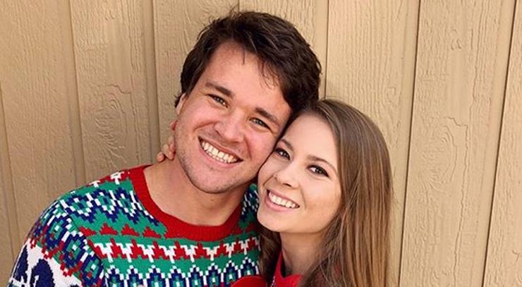 Bindi Irwin Celebrates Christmas with Fiance Chandler Powell!