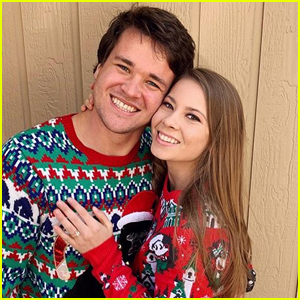 Bindi Irwin Celebrates Christmas with Fiance Chandler Powell!