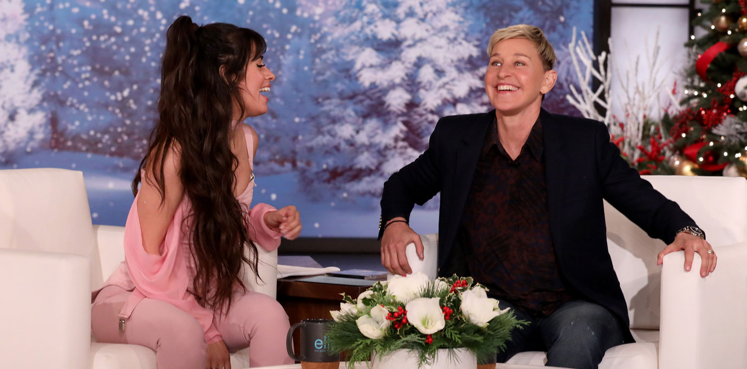 Camila Cabello Talks About Crushing on Shawn Mendes on 'Ellen' (Video)