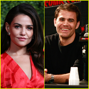 'TVD' Franchise Series Alums Danielle Campbell & Paul Wesley Open Up About Finally Working Together on 'Tell Me A Story'