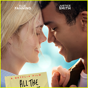 Elle Fanning & Justice Smith Look So in Love in New 'All the Bright Places' Poster!