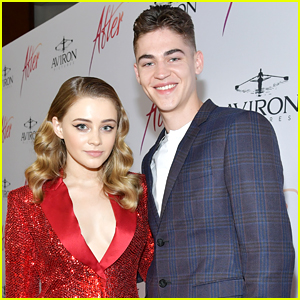 Josephine Langford & Hero Fiennes-Tiffin Share The Cutest Selfie Ever!
