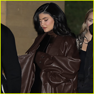 Kylie Jenner Joins Kim Kardashian & Kris Jenner For Holiday Party for Employees