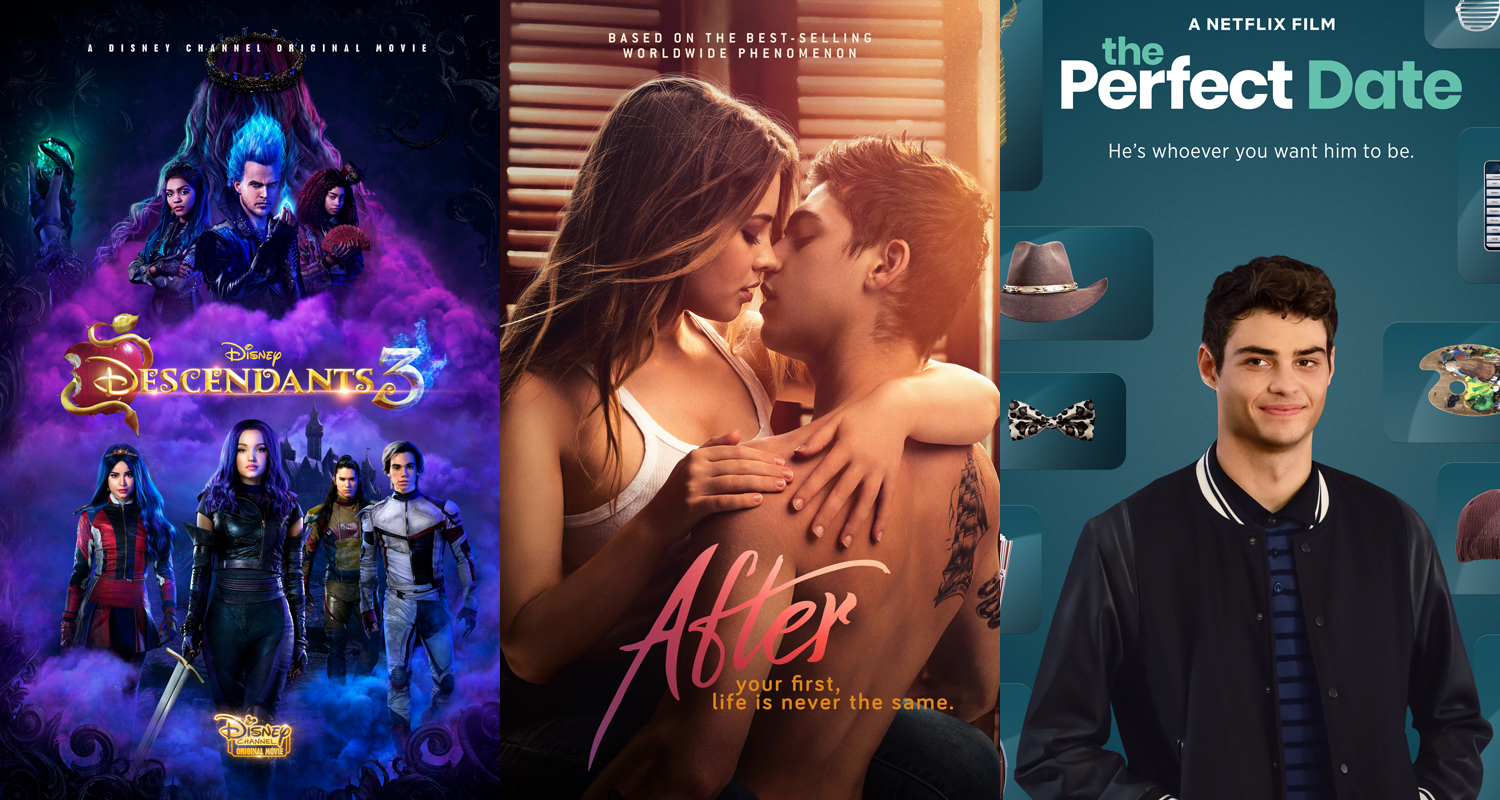 'After' & 'Descendants 3′ Were Among The Most Talked About Movies On JJJ In 2019