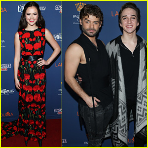 Olivia Sanabia, Michael Campion, & Garrett Clayton Debut 'A Snow White Christmas!'