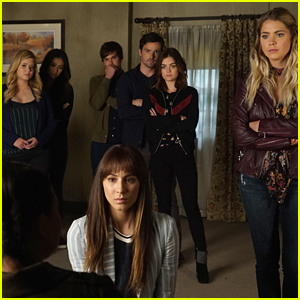 Troian Bellisario Shares Epic 'Pretty Little Liars' Reunion Pic - See It Now!
