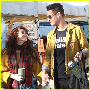 Sarah Hyland & Wells Adams Make The Cutest Couple For Weekend Outing