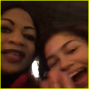 This Moment Between Zendaya & a Fan's Mom Is So Funny!