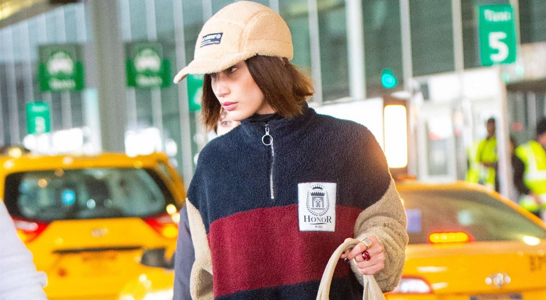 Bella Hadid Arrives Home in N.Y. After Paris Fashion Week!
