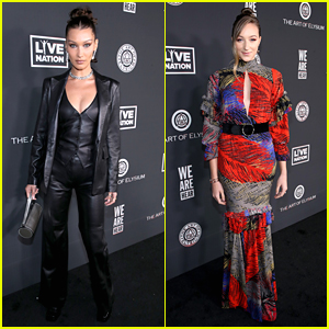 Bella Hadid, Ava Michelle & More Step Out For Art of Elysium Gala