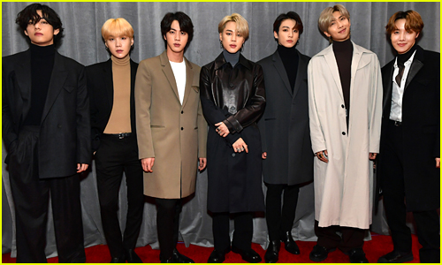 The Guys of BTS Walk the Grammys 2020 Red Carpet!