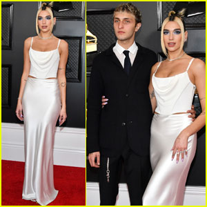 Dua Lipa Joined By Boyfriend Anwar Hadid at Grammys 2020