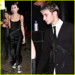 Dua Lipa & Anwar Hadid Head Home From Grammys After-Party