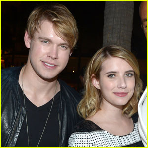 Emma Roberts Hits the Beach With Ex Chord Overstreet