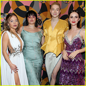'Euphoria' Cast Members Reunite at Golden Globes After Party
