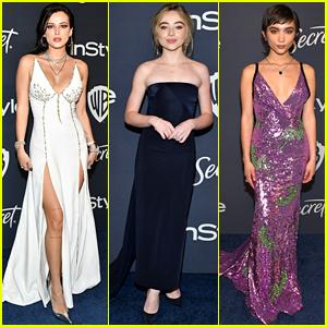 Bella Thorne, Sabrina Carpenter, Rowan Blanchard, & More Wow at Globes After Party!