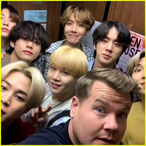 James Corden Hands Out Cupcakes to BTS Army Outside of His Show