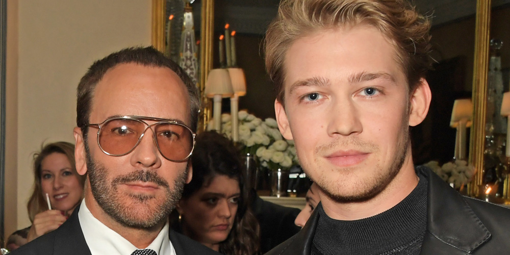 Joe Alwyn Looks Sharp at Tom Ford Beauty Dinner in London
