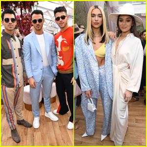 Jonas Brothers, Dua Lipa, & Hailee Steinfeld Attend Roc Nation's Pre-Grammys Brunch!