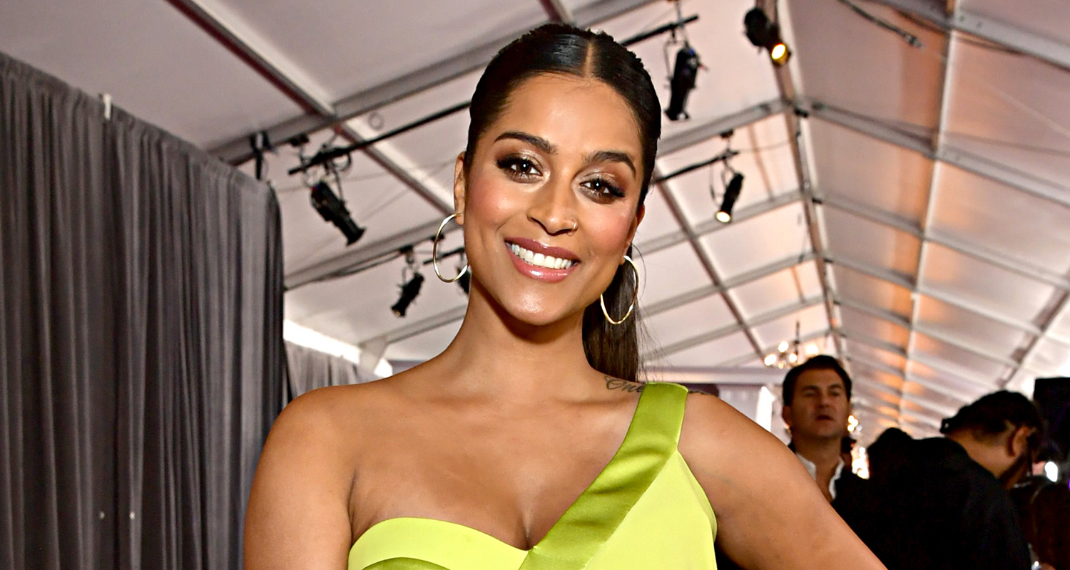 Lilly Singh Brings Purse Full of Skittles To Grammys 2020