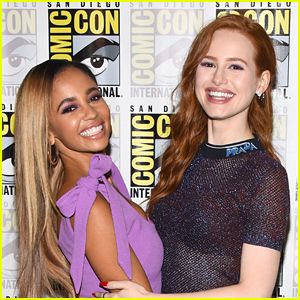 Madelaine Petsch Opens Up About Filming Love Scenes with BFF Vanessa Morgan on 'Riverdale'