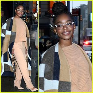 Marsai Martin Shares Wise Advice for Young People With Big Dreams