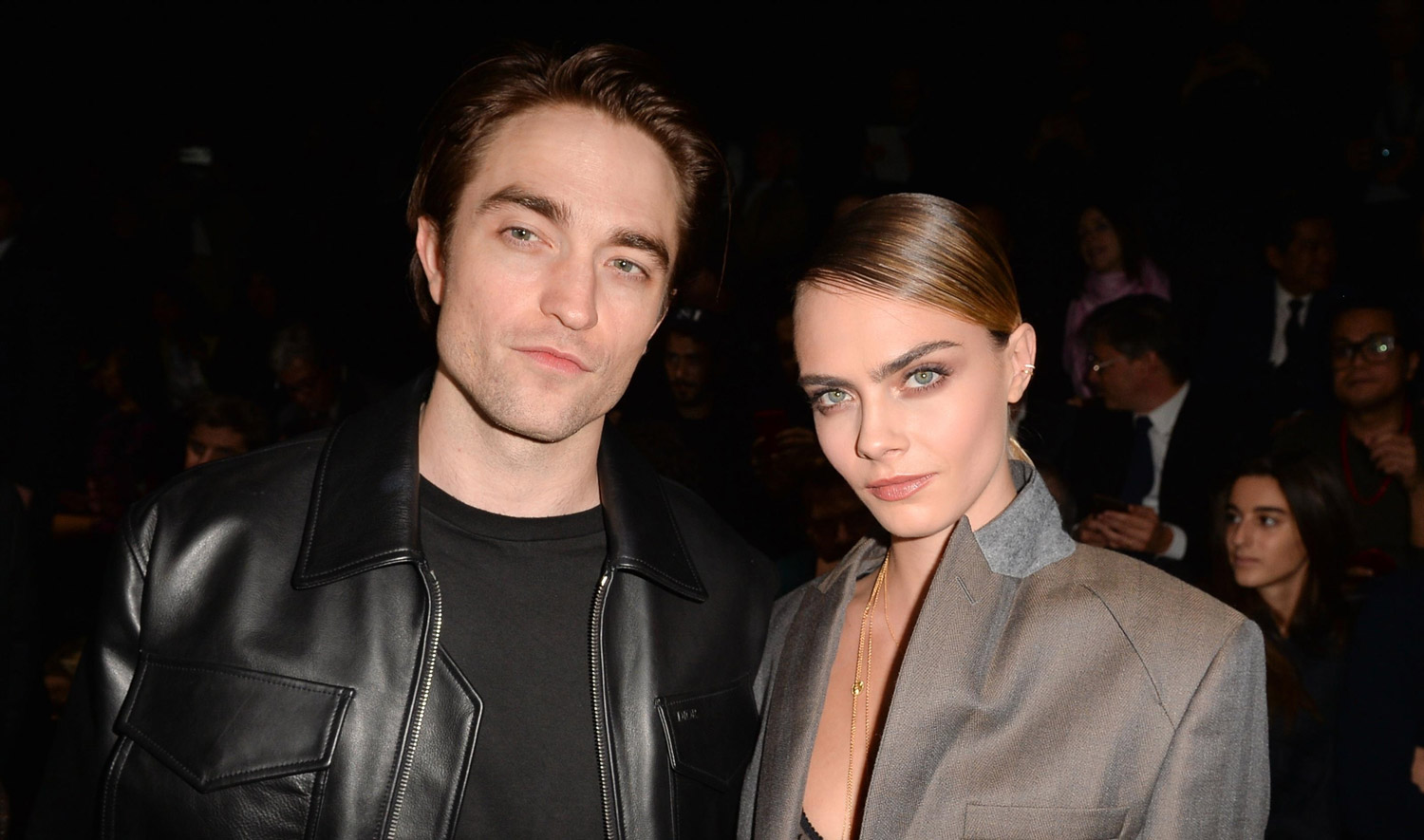 Cara Delevingne Meets Up with Friend Robert Pattinson at Dior Show!