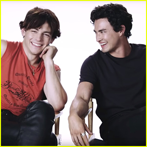 Ross Lynch & Gavin Leatherwood Continue Their Bromance In 'Chilling Adventures of Sabrina' BTS Video