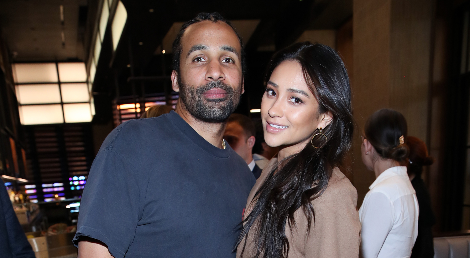 Shay Mitchell Couples Up with Matte Babel at Hulu Event in Vegas!