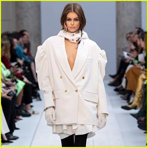 Kaia Gerber Turns Into Her 'Kind of Bride' at Max Mara Show