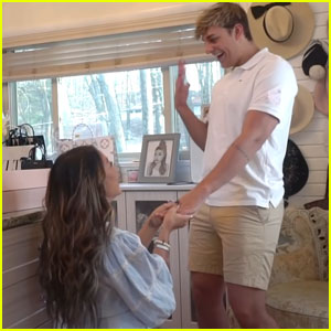Gabi DeMartino Proposes to Boyfriend Collin Vogt!