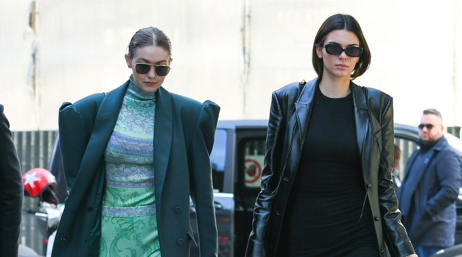 Gigi Hadid Joins BFF Kendall Jenner for a Fashionable Lunch Outing!
