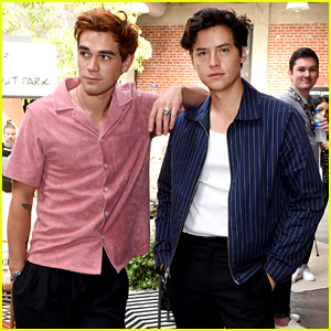 KJ Apa Says He Sold Cole Sprouse's Used Under-Eye Masks to Joe Keery
