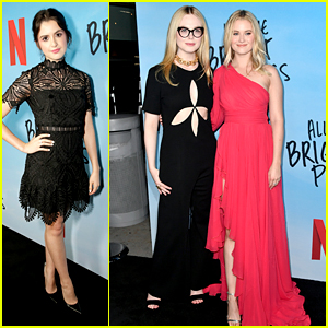 Laura Marano Joins Elle Fanning & Virginia Gardner at 'All The Bright Places' Premiere