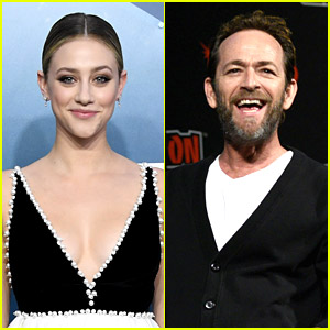 Lili Reinhart Had a Dream She Hugged & Cried On Luke Perry's Shoulder