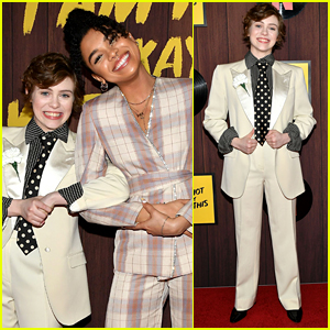 Sophia Lillis Premieres Her New Netflix Show 'I Am Not Okay With This' in LA