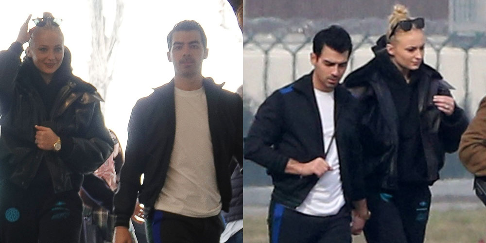 Pregnant Sophie Turner Steps Out with Joe Jonas Amid Pregnancy News!