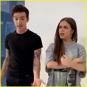 Drake Bell & Baby Ariel Recreate Classic 'Drake & Josh' Scene (Video)