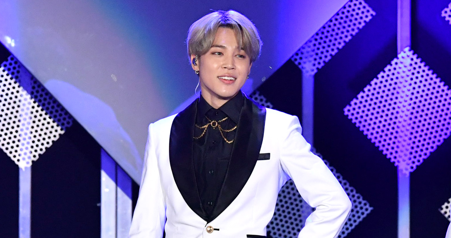 Bts S Jimin Reveals New Tattoo With A Special Meaning Bts Jimin Just Jared Jr