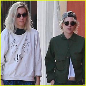 Kristen Stewart Enjoys Lunch Date with Girlfriend Dylan Meyer!