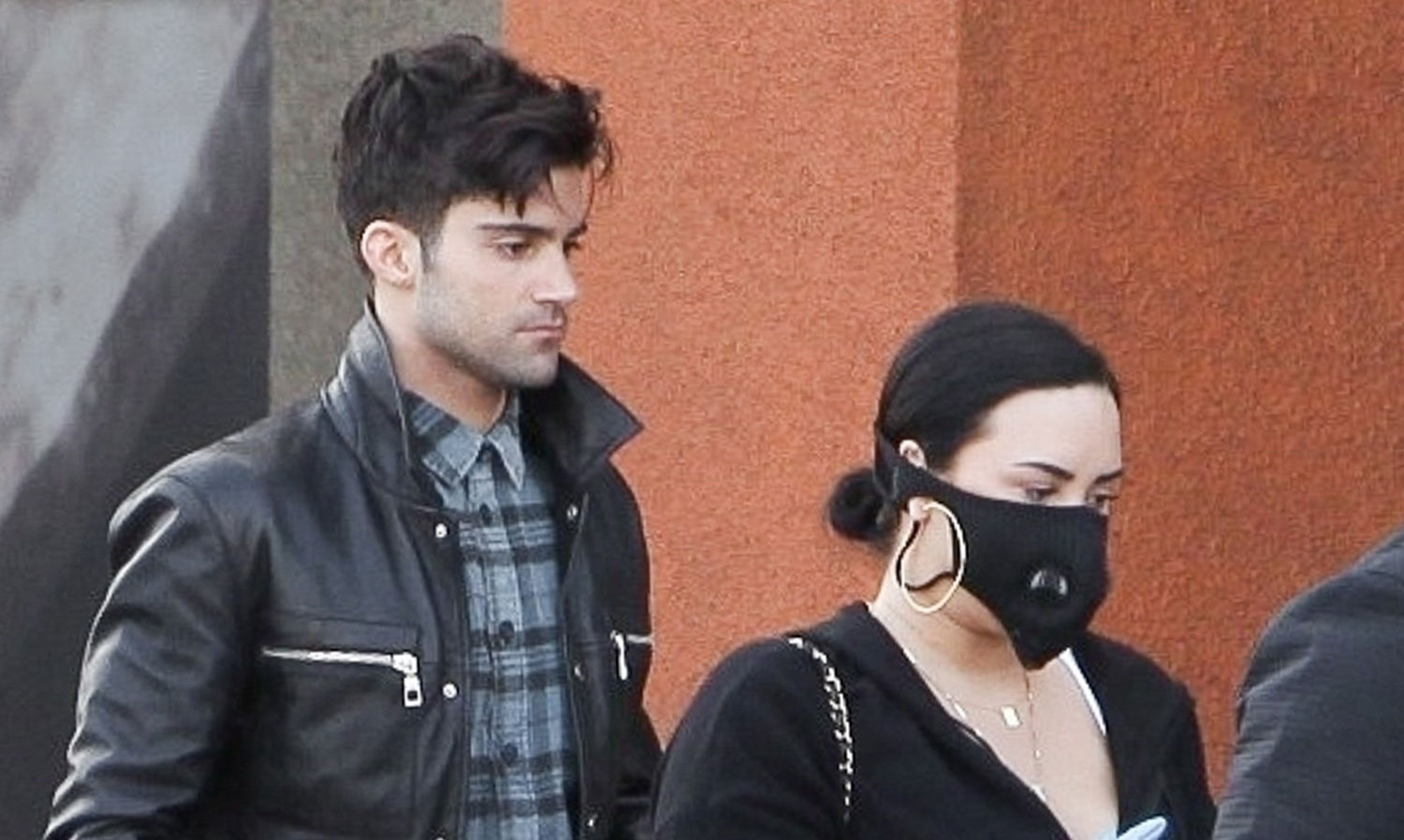 Demi Lovato & Max Ehrich Went Grocery Shopping Together Earlier ...