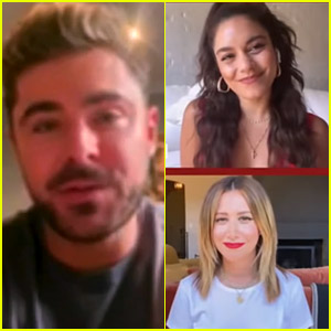 Watch the 'High School Musical' Cast Reunion from the Disney Family Singalong!