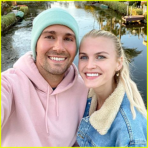James Maslow & Caitlin Spears Ring In One-Year Anniversary With Sweet Posts