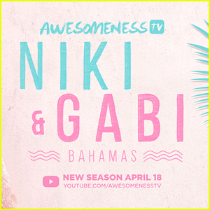 Niki & Gabi DeMartino Release Full Length Trailer For 'Niki & Gabi Take Bahamas'