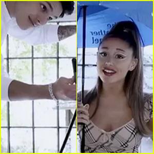 Ariana Grande's BF Dalton Gomez Appears in Her 'Rain on Me' Skit With Lady Gaga!