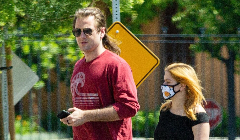 Ariel Winter & Boyfriend Luke Benward Run a Few Errands in L.A.
