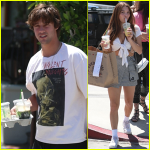 Cameron Dallas Enjoys a Day Out with GF Madisyn Menchaca
