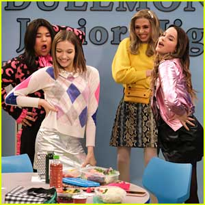 Jayden Bartels & Annie LeBlanc Guest Star On 'All That' Tonight!